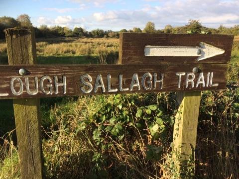 lough sallagh trail
